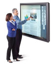 "Perceptive Pixel Outs 82"" 1080p Multi-Touch Display"