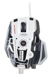 Mad Catz Cyborg R.A.T. Albino Edition Gaming Mouse Ships With PC/Mac Support