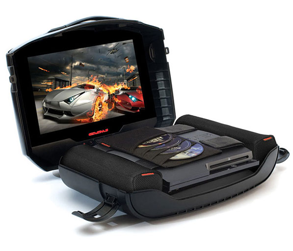 gaems g155 mobile gaming station gets console gamers out