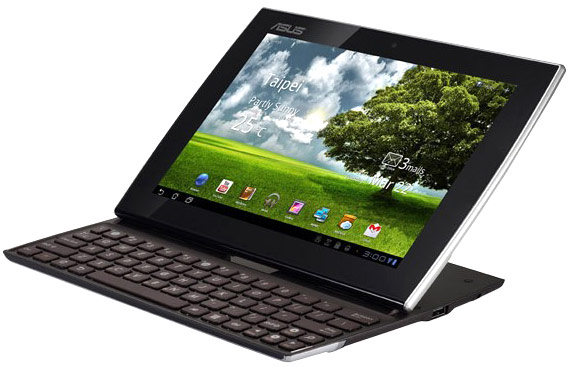 ASUS Launches The Eee Pad Slider