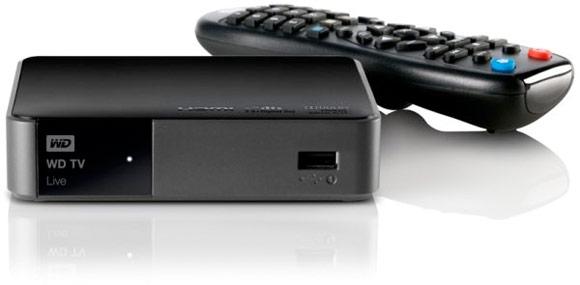 western digital 39 s wd tv live streaming media player gains. Black Bedroom Furniture Sets. Home Design Ideas