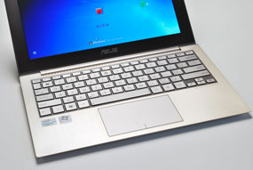 Asus zenbook ux21e hands on video demo hothardware for Asus zenbook ux21e