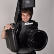 This Guy's Fully Functional Nikon DSLR Halloween Costume is Full of Awesome