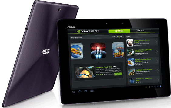 ... Transformer Prime from Asus is built around Nvidia's Tegra 3 platform