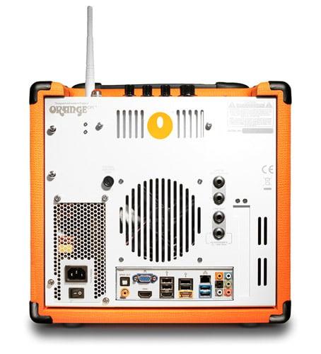 orange guitar amp pc might be the best looking desktop ever hothardware. Black Bedroom Furniture Sets. Home Design Ideas