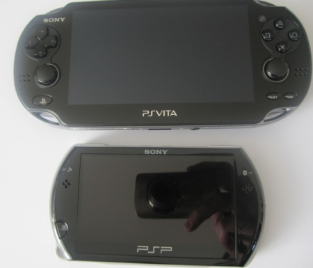difference between psp and ps vita