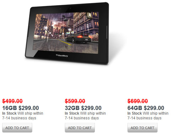 BlackBerry PlayBook Receives Massive Price Cut, Is A