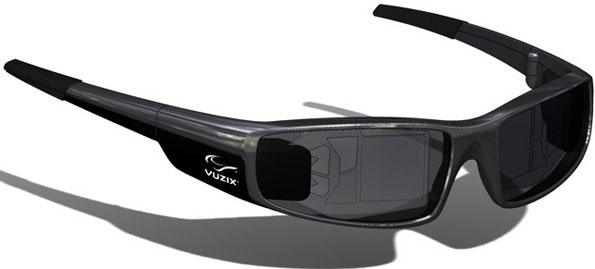 Sunglasses With Hud  vuzix taps into nokia to design stealthy looking smart glasses