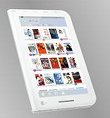 Toshiba Launches 7-inch Color E-reader in Japan