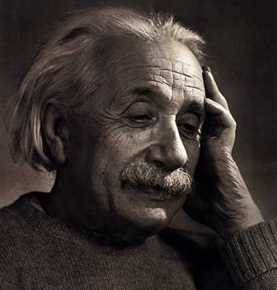 Yes, it's an Einstein Facepalm.