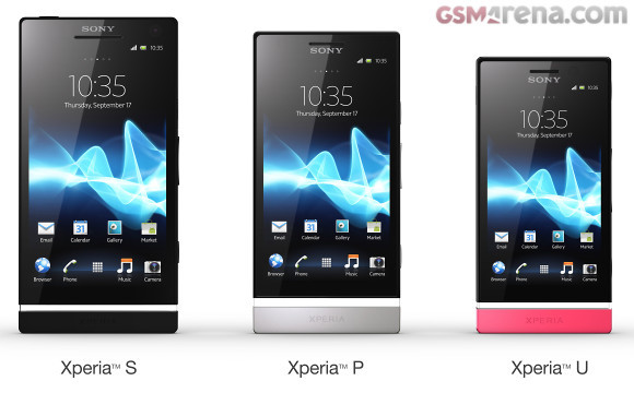 sony unveils xperia u and xperia p at mwc hothardware rh hothardware com Sony Xperia Z Sony Xperia Z
