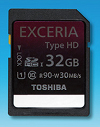 Toshiba Announces Speedy Exceria SDXC and SDHC Cards, No Word on Price