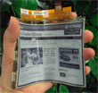 LG Begins Mass Production Of World's First Flexible E-Paper Display