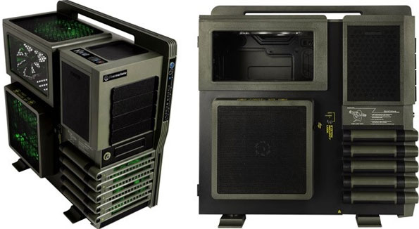 Thermaltake level 10 gt battle edition chassis unveiled.