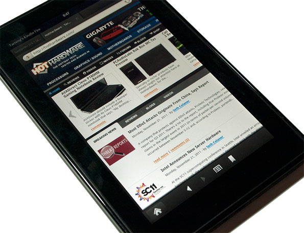 Hot Selling Kindle Fire Captures Majority Android Tablet Market