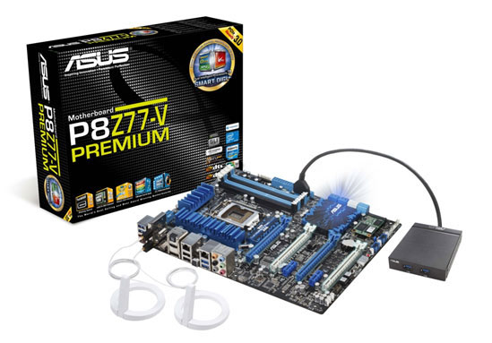Asus Launches P8z77 V Premium Motherboard With Thunderbolt Hothardware