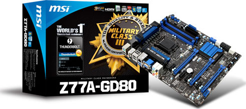 MSI Z77A-GD80 Intel Rapid Storage Technology Drivers for Windows XP
