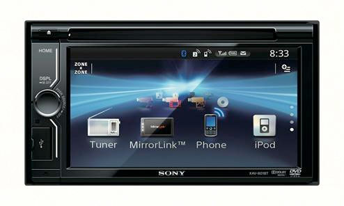 sony 39 s new head unit does phone app control via mirrorlink hothardware. Black Bedroom Furniture Sets. Home Design Ideas