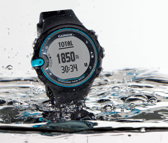 Garmin introduces waterproof swim gps watch complete with ant wireless tech hothardware for Garmin swim pool swimming watch