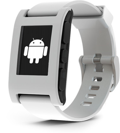 Pebble smartwatch shows off android sdk at google i o hothardware for Pebble watches