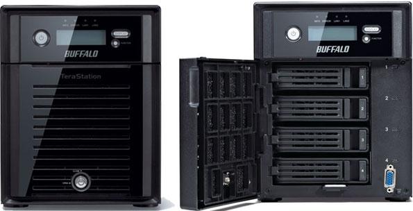 Buffalo Goes Big with 4TB Hard Drives in Select NAS Box