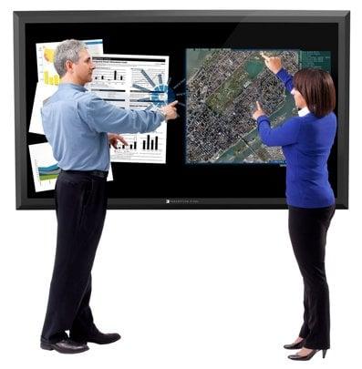 Perceptive Pixel's 82-inch touchscreen