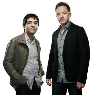 Drew Houston and Arash Ferdowsi, Founders of Dropbox