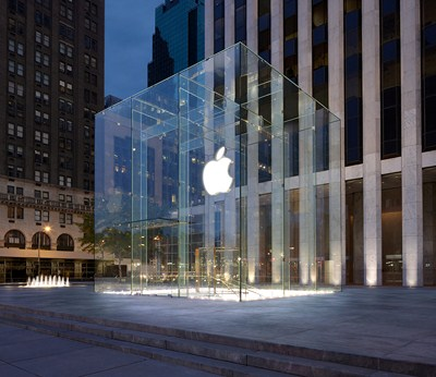 Apple On 5th Ave New York