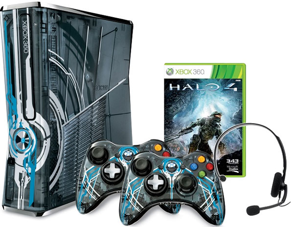 Limited Edition Xbox 360 Halo 4 Bundle