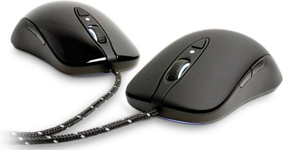 glossy gaming mice