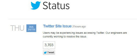 Twitter Apologizes For Outage