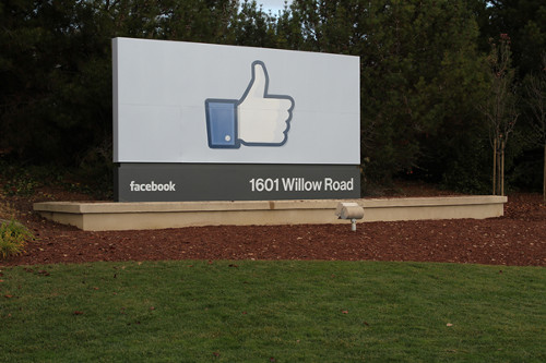Facebook Headquarters In Meno Park CA