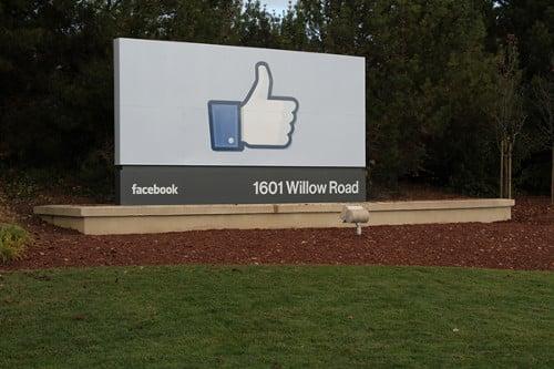 Facebook Headquarters In Meno Park CA