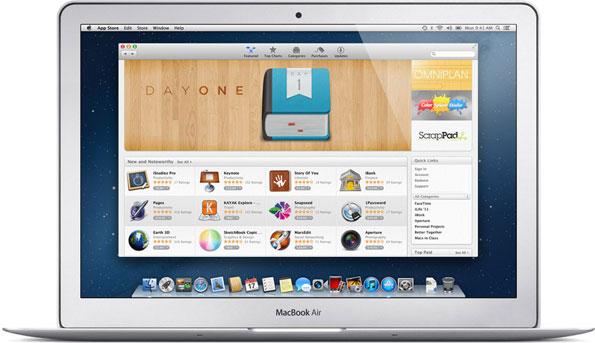MacBook Air Mountain Lion