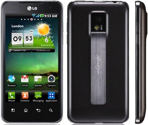 LG Optimus 2X Smartphone