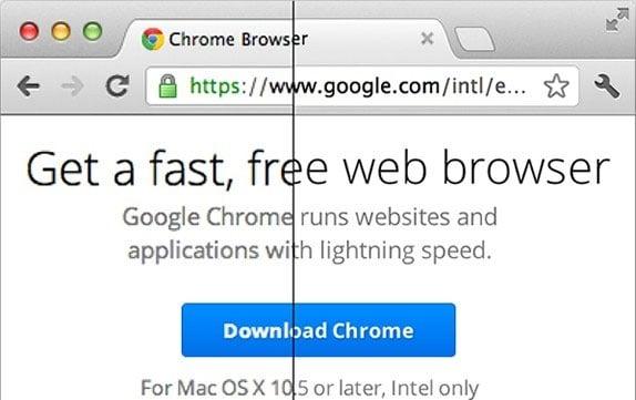 Google Chrome Retina Display