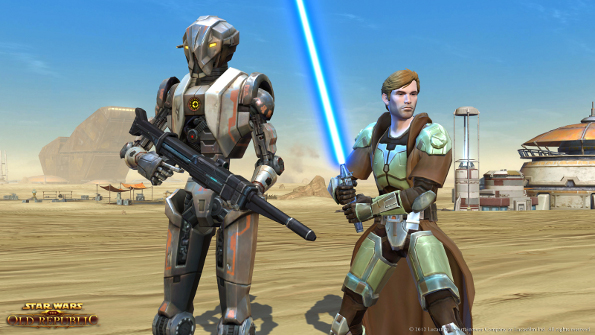 Star Wars: The Old Republic Goes Free-To-Play