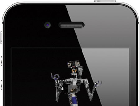 iPhone Johnny Five