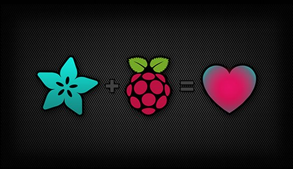 Adafruit loves Raspberry Pi
