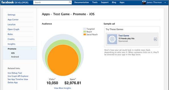 Facebook Developers Screenie