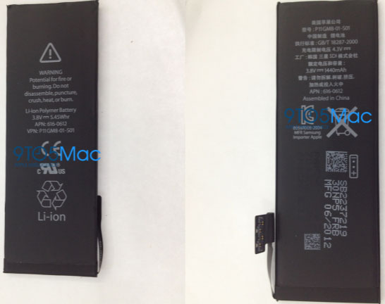 Apple iPhone 5 Battery Packs