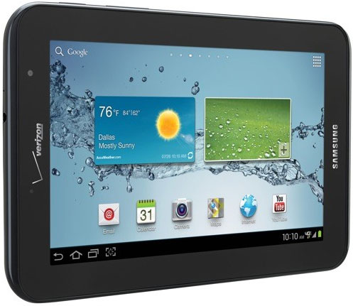 Verizon Galaxy Tab 2 7.0