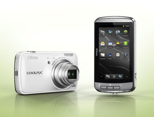 Nikon S800c 1 Nikon Adds Android Powered COOLPIX S800c, Two Other Models To COOLPIX Lineup