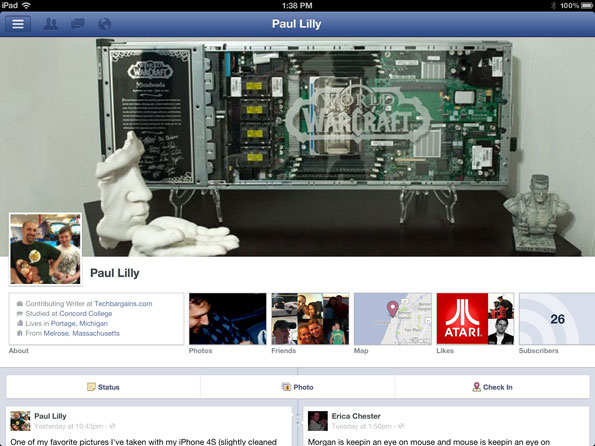 Facebook Paul Lilly