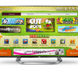 "LG Unveils ""Game World"" Gaming Portal on Cinema 3D Smart TVs, Seems Optimistic that Devs Will Buy In"