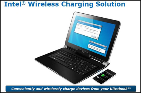 Intel Wireless Charging Technology Slide