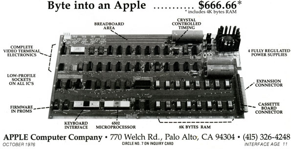 Apple I Ad