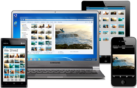 SkyDrive Goes Cross-Platform