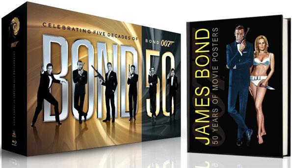 Bond 50 Blu-ray