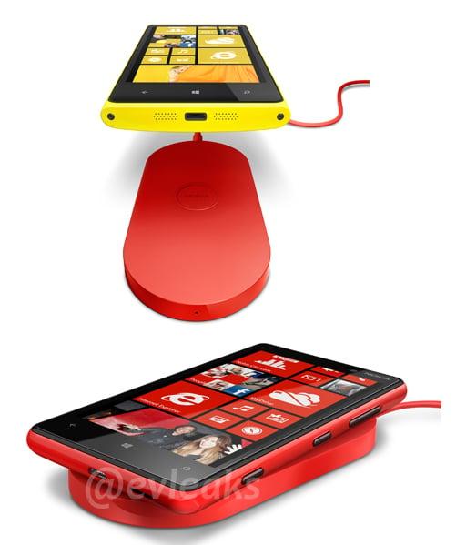 Nokia Lumia 920 charging pad